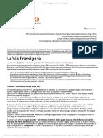 La via Francigena - Comune Di Pietrasanta