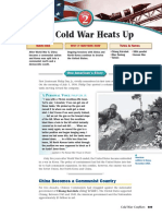 cold war heats up