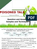 Poisoned Talk Quiz Show