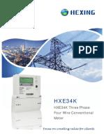 Meter HXE34K DataSheet