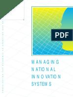 OCDE 1999 Managing National Innovation Systems