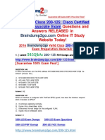[PDF & VCE]Braindump2go New 200-125 Exam Dumps (PDF and VCE) 583Q&As(546-583).pdf