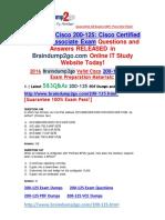 [PDF & VCE]Braindump2go New 200-125 Exam Dumps (PDF and VCE) 583Q&As(546-583).pdf