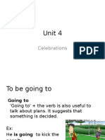 Celebrations Presentation