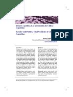 Genero y politica. Las presidentas de Chile y Argentina.pdf
