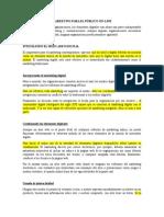 Marketing Para El Público Online-traducción