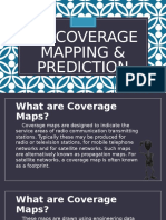 AM Coverage Mapping & Prediction (4th Report by Pedrosa)