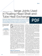 Special Flange Joints Used in Floating-Head Shell-And-Tube Heat Exchangers