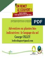 Presentation George Oxley Colloque Couverts Vegetaux Travail Superficiel Du Sol Et Semis Direct Auch 12-12-2014