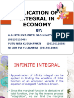 Economic Aplication of Integration