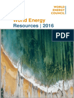 World Energy Resources Full Report 2016.10.03