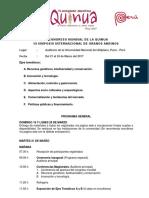 Programa VI Congreso Mundial de La Quinua - III Simposio Internacional de Granos Andinos_LaQuinua.blogspot.com