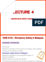 Lecture 4_Workplace Safety Issues