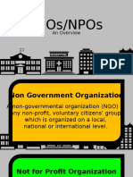 Overview of NGOs-NPOs