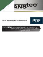 TRANSMISIÓN MERCEDES BENZ 722 FUNCIONAMIENTO
