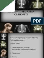 kegawat daruratan orthopedi
