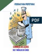 7-Pilares Dos Recursos Federais Para Prefeituras