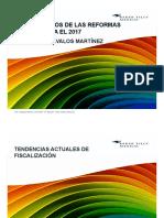 Aspectos Finos Reformas Fiscales 2017