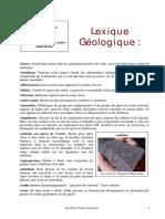 Lexique Geologique J-P Geslin