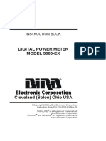 Bird DPM Model 500 EX