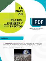 Presentación Clases, Causas, Fuentes, Efectos, De La Contaminación