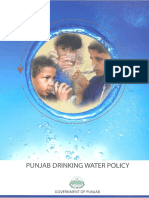 1-Punjab Drinking Water Policy 2011