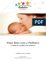 eBook Papo Reto Com o Pediatra Flavio Melo