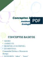 Conceptos Básicos Ambiente - Ecología 2016