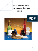 Manual de Uso de Productos Quimicos
