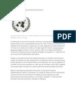 POSADAS Declaración Universal de Los Derechos