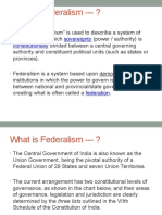 Federalism,Decentarlization 73rd and 74th Amendment Act