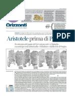 Bonazzi Aristotele prima di Platone.doc