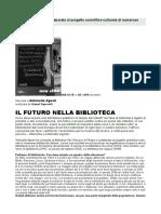 Antonella Agnoli Il Futuro Nella Bibioteca