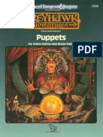 Adventure - Greyhawk - Puppets (Lvl 1-3)