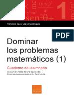 Dominar Los Problemas Matematicos 1 MUESTRA ESP