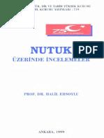 Halil Ersoy - Nutuk Üzerine İncelemeler