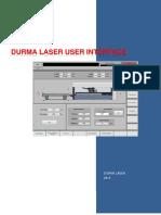 6_durma Laser User Interface