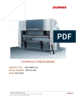 2_press Brake Greasing and Maintenance Information
