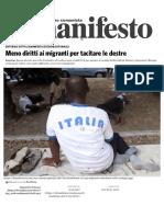 Meno Diritti Ai Migranti Per Tacitare Le Destre