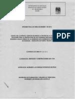 Informe 3 Final Construccion Muro Doradal