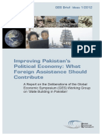 GES Brief - Improving Pakistans Political Economy -HQ