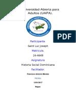 Tarea i Historia Dominicana 1