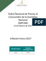 Índice Nacional de Precios al Consumidor de la Asamblea
