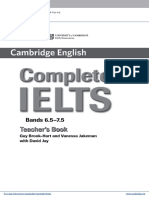Complete Ielts Bands6.5to7.5 Teachers Book Frontmatter