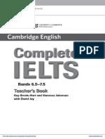 Complete Ielts Bands6.5to7.5 Teachers Book Frontmatter