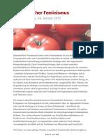 Kritisch-lesen.de - Ausgabe- Nr. 34 Vom 06. Januar 2015 - Marxistischer Feminismus