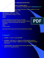 Renal - Curs 4 - SINDROM NEFROTIC , Nefropatii Interstitiale, PNA, PNC