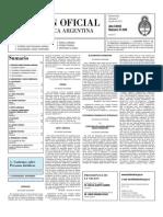 Boletin Oficial 07-07-10 - Segunda Seccion