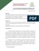 PGT Tópicos Especiais de Planejamento Trabalho Final Raquel 10.02.15 (1)