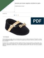 Você Vai Morrer de Amores Por Esses Sapatos Exclusivos Para Recém-nascidos _ Pais&Filhos